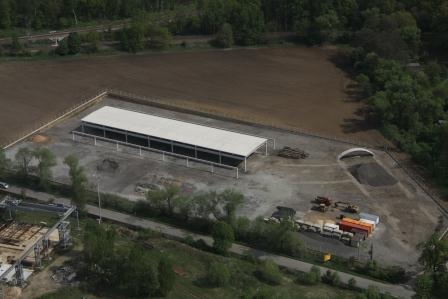 Stavba nové haly